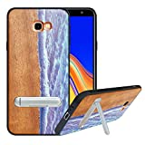 HHDY Samsung Galaxy J4 Plus Phone Cover Case with Metal