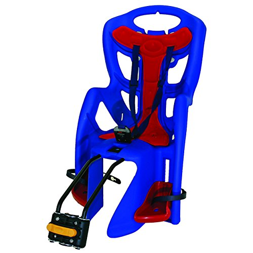 Learn More About Bellelli Pepe Seatpost Mounted Baby Carrier, Red/Blue