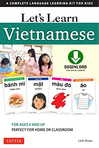 Let's Learn Vietnamese Ebook: A Complete Language Learning Kit for Kids (64 Flash Cards, Audio download, Games & Songs & Learning Guide) (English Edition)