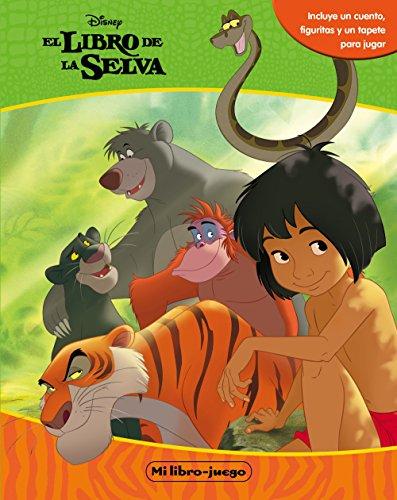 El libro de la selva. Libroaventuras: Incluye un cuento, figuritas y un tapete
