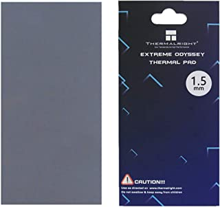 nkomax Thermalright Thermal Pad 12.8 W/mK, 85x45x1.5mm, Non Conductive Heat Resistance High Temperature Resistance, Silico...
