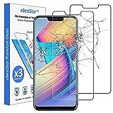 ebestStar - kompatibel mit Huawei Honor Play Panzerglas x3 Schutzfolie Glas, Schutzglas Bildschirmschutz, Bildschirmschutzfolie 9H gehärtes Glas [Phone: 157.9 x 74.3 x 7.5mm, 5.15'']