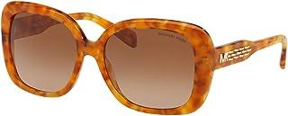 نظارة شمسية من مايكل كورس كلوستيرز MK2081 333913-56 - اطار بلون كهرماني لامع، بني MK2081-333913-56