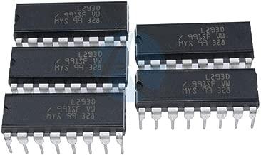 Tech Express5pcs L293D DIP 16-pin IC Stepper Motor Drivers Controllers