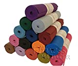 Fitness Mantra® High Density Yoga Mat for Yoga Exercise and Gym Workout. 6mm