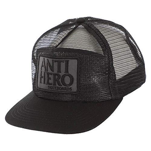 Anti Hero Skateboard-Mütze Reserve Patch Trucker schwarz