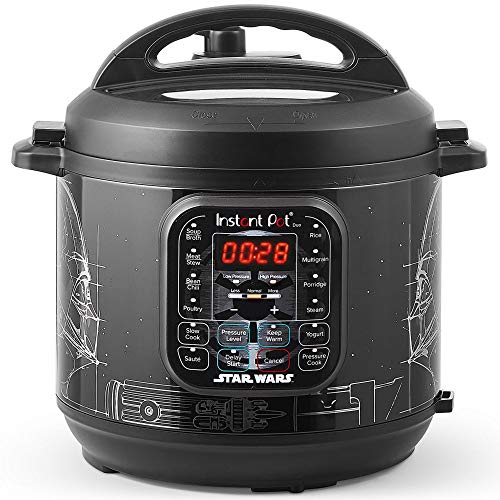 Star Wars Darth Vader Instant Pot Duo 6-Qt. Pressure Cooker Now $59.98 (Was $99.95)