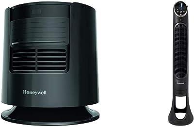 Honeywell Dreamweaver Sleep Fan, Black & QuietSet Whole Room Tower Fan-Black, HYF290B