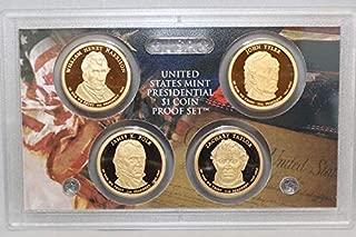 2009 S Presidential Dollar US Mint Poof set - (OGP) 4 coins