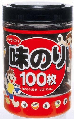 白子 卓上味のり 10切100枚