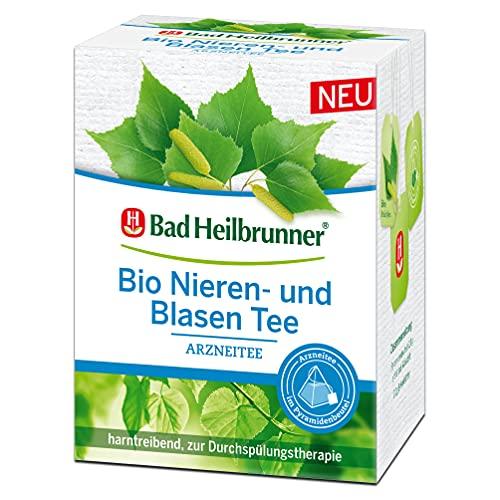 Bad Heilbrunner Bio Niere- und Blasen Tee im Pyramidenbeutel, 4er Pack (4 x 12 Pyramidenbeutel)