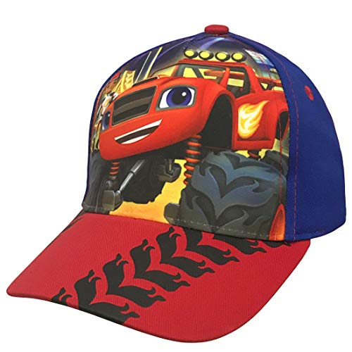 Nickelodeon Blaze and The Monster Machine Baseballkappe für Jungen, 100 % Baumwolle, Blau