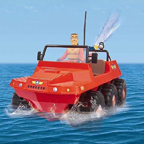 Giochi Preziosi - Sam Il Pompiere, Veicolo Land And Sea Hydrus con Radiocomando