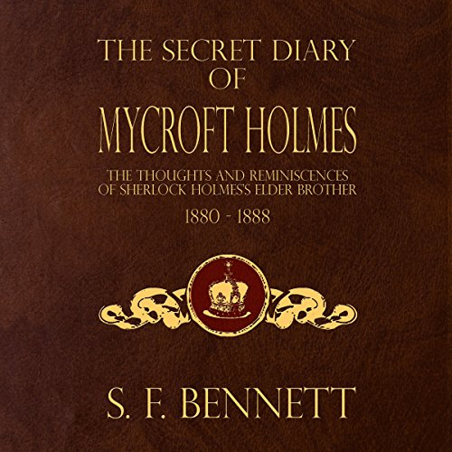 The Secret Diary of Mycroft Holmes audiobook cover art