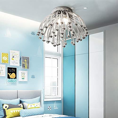 The only Good Quality Indoor eenvoudige atmosfeer moderne LED plafondlamp voor woonkamer Nordic Warm romantisch creatief voor kinderen slaapkamer tweepersoonsbed verlichting warm licht Φ45 cm