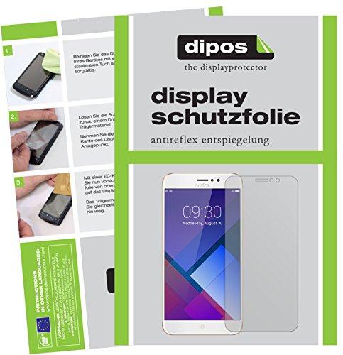 dipos I 6X Schutzfolie matt kompatibel mit TP-Link Neffos C7 Folie Bildschirmschutzfolie