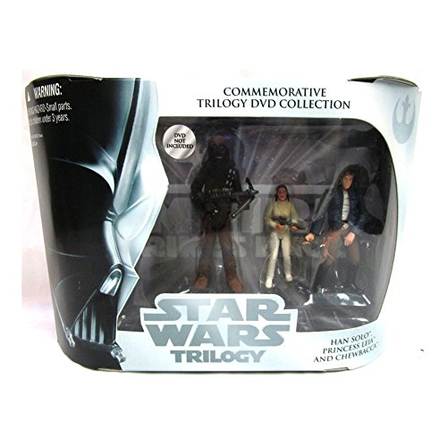Star Wars Commemorative Trilogy DVD Collection: Empire Strikes Back (Chewbacca, Princess Leia, Han Solo)