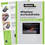 dipos I 2X Pellicola Protettiva antiriflesso Compatibile con Sony Xperia Tablet Z Pellicola di Protezione