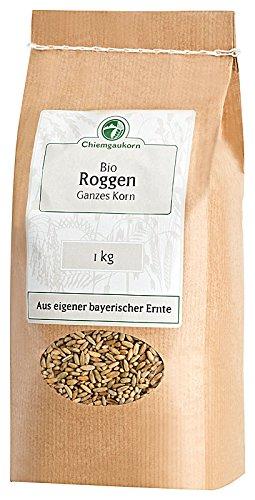 Chiemgaukorn Bio Roggen Ganzes Korn 1kg