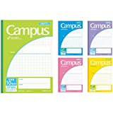 5 books Pakkuno-30S10X5 Kokuyo Campus Notes by Application B5 10mm grid ruled (japan import)