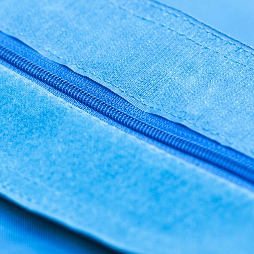 XXL Sitzsack QSack Outdoorer mit deutscher Qualitätsfüllung, 140 x 180 cm (blau) - 5