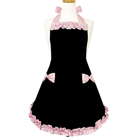 Full Woman/'s Apron 2in1 Woman/'s Apron Tiered Skirt Floral Apron With Detachable Bib Half Apron