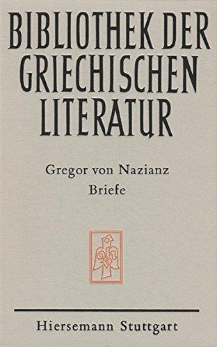 Gregor von Nazianz. Briefe.