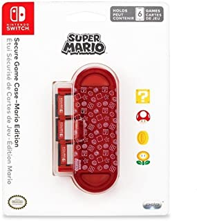 Nintendo Switch Super Mario Brothers Secure Game Case For Up to 6 Games by PDP
