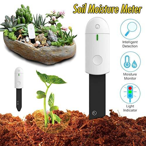 Probador de Suelo Flower Care, medidor de Humedad PH, higrómetro, Sensor de nutrientes/Temperatura/luz Solar/Humedad, Detector de Plantas de Flores, inalámbrico, Sensor de Planta Bluetooth
