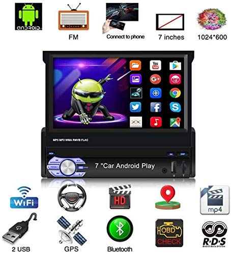 Binize Android 9.1 7 Inch HD Quad-Core 2 Din Car Stereo Radio Multimedia Player NO-DVD GPS...