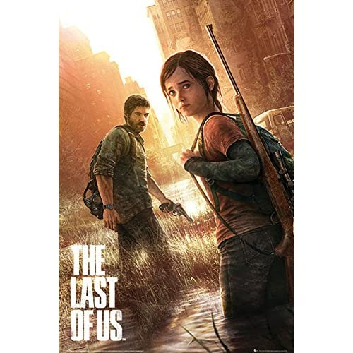 The Last of Us - Key Art - Games Maxi Poster Druck Poster - Größe 61x91,5 cm