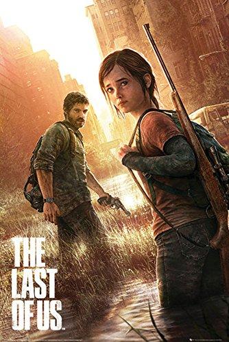 Empire Merchandising 668332 The Last of Us, Key Art, Games Póster de presión, de tamaño de 61 x 91,5 cm