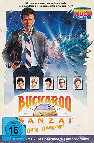 Buckaroo Banzai - Die 8. Dimension (Retro-VHS-Edition, Blu-ray+DVD) (exklusiv bei Amazon.de) [Limited Collector's Edition]