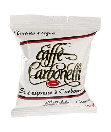 Caffè Carbonelli 50 Capsule Monodose, Miscela Classic - 1 Scatola