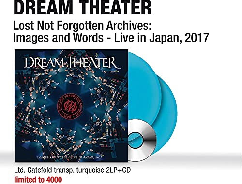 Lost Not Forgotten Archives: Images and Words - Live in Japan, 2017 (Turquoise 2LP+CD) [Analog]