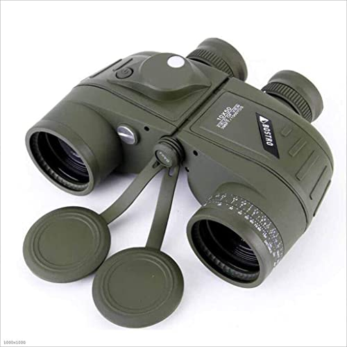 TX ZHAORUI Télescope 7X50 Télescope Flottant Imperméable Haute Définition Haute Définition Boussole De Vision Nocturne à Faible Luminosité Portée