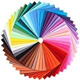 100 Stücke Stoff Patchwork 8 x 8 Zoll Mehrfarbige Baumwoll