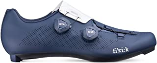 Men's Aria R3 Road Cycling Shoes - Navy/White