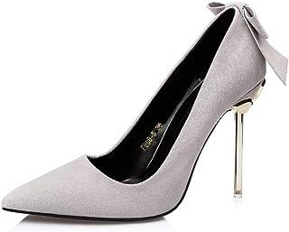 パンプス ヒール リボン ポインテッドトゥ 痛くない 10センチ 10cm レディース 22cm 小さいサイズ 結婚式 二次会 フォーマル 卒園式 入園式 美脚 ピンヒール 靴 くつ シューズ 履きやすい パーティー ゴージャス