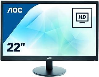 Monitor 21.5 AOC E2270SWN LED - Full HD - furação VESA - 5ms