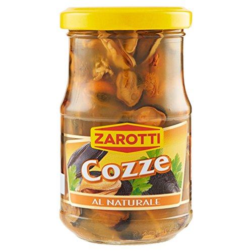 Zarotti Cozze Al Naturale Vaso - 200 Gr