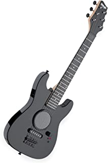 Stagg GAMP200BK - Guitarra eléctrica infantil (amplificador integrado), color negro