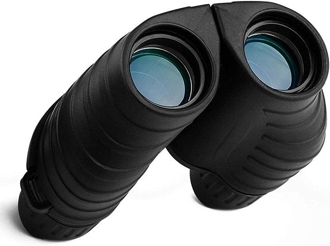 LINDANIG Télescope portable d'observation d'oiseaux Grand Angle 10X25 HD pour Une Utilisation en extérieur