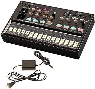 Korg Volca FM Digital FM Synthesizer and Korg 9V600MACPP 9v 600ma Power Supply