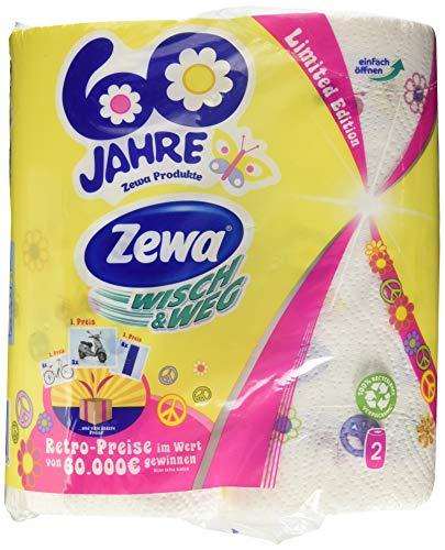 Zewa Wisch&Weg Fun Design, 2 Stück