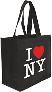 I Love NY Tote Bag Reusable Grocery Tote or Gift Bags with the Official I Love NY Logo Gift Bag