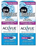 Blink RevitaLens Multi-Purpose Disinfecting Solution 10 oz (Pack of 2)