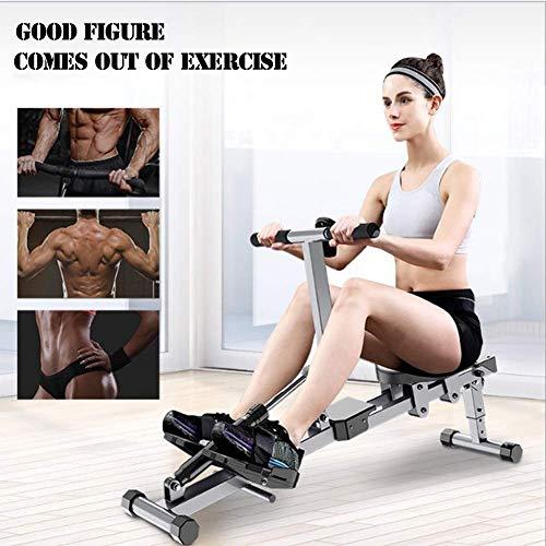 YLLN Máquina de Remo, Entrenamiento Muscular para el hogar, para la pérdida de Peso en Hombres y Mujeres, Entrenamiento Abdominal para la pérdida de Peso y el Desarrollo Muscular
