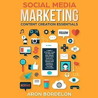 Social Media Marketing Content Creation Essentials audiobook cover art