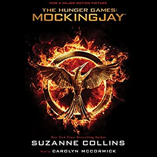 Mockingjay     The Final Book of The Hunger Games              Written by:                                                                                                                                 Suzanne Collins                               Narrated by:                                                                                                                                 Carolyn McCormick                      Length: 11 hrs and 40 mins     55 ratings     Overall 4.4